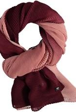 Fraas Foulard plissé ombre - Berry