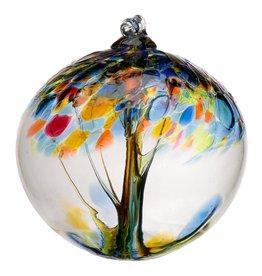 "Kitras Art Glass Boule Arbre  - Espoir 6"""