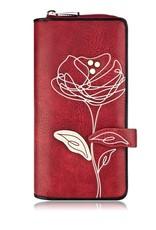 ESPE Portefeuille clutch Rosie -  Rouge