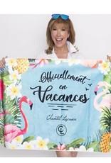 Chantal Lacroix Serviette de plage - Vacances