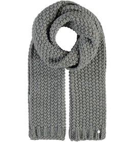 Fraas Foulard  en tricot torsadé - Gris