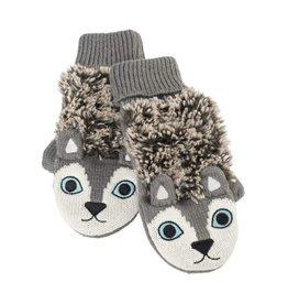Mitaine - Chat gris