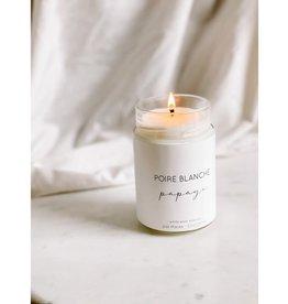 La Marée Bougie Poire blanche & Papaye   - 314ml