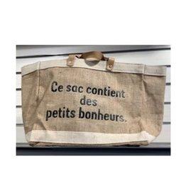 Chantal Lacroix Petit sac d'emplettes - Petits bonheurs