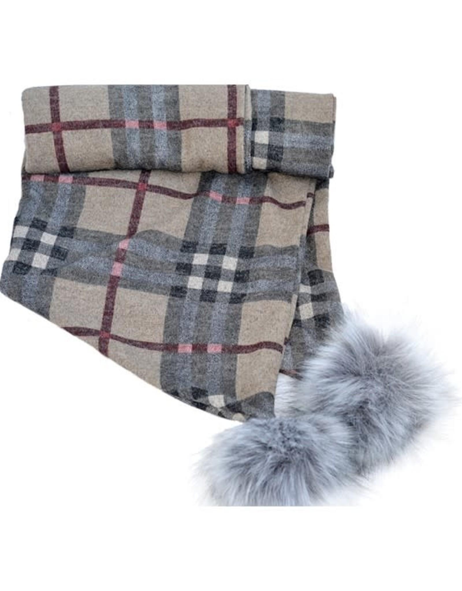 Baluchon Grand foulard + pompon # 1610-1333