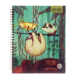 Agenda scolaire - Jungle 2021-2022