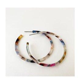 Caracol Bo anneau multi  blanc  -  #2437