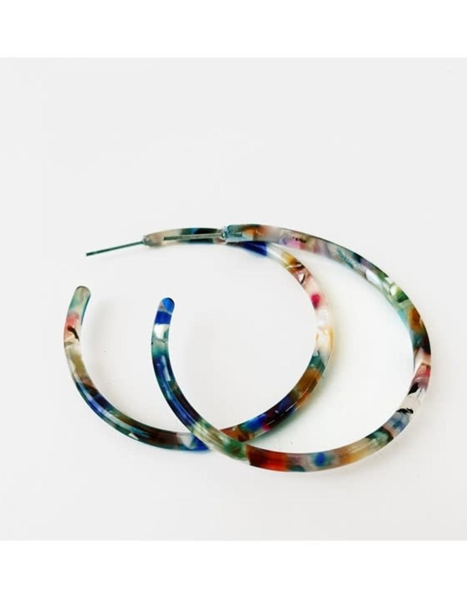 Caracol Bo anneau multi  noir  -  #2437