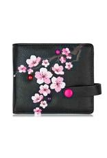 ESPE Petit portefeuille Blossom - Noir