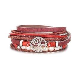 NOMAAD Bracelet arbre - Rouge