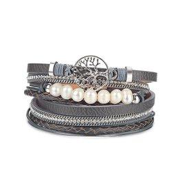 NOMAAD Bracelet Arbre - Gris