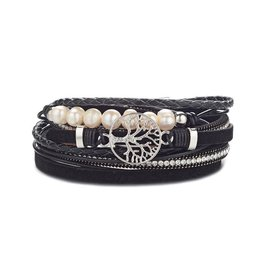 NOMAAD Bracelet Arbre - Noir