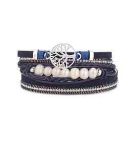 NOMAAD Bracelet Arbre - Marine