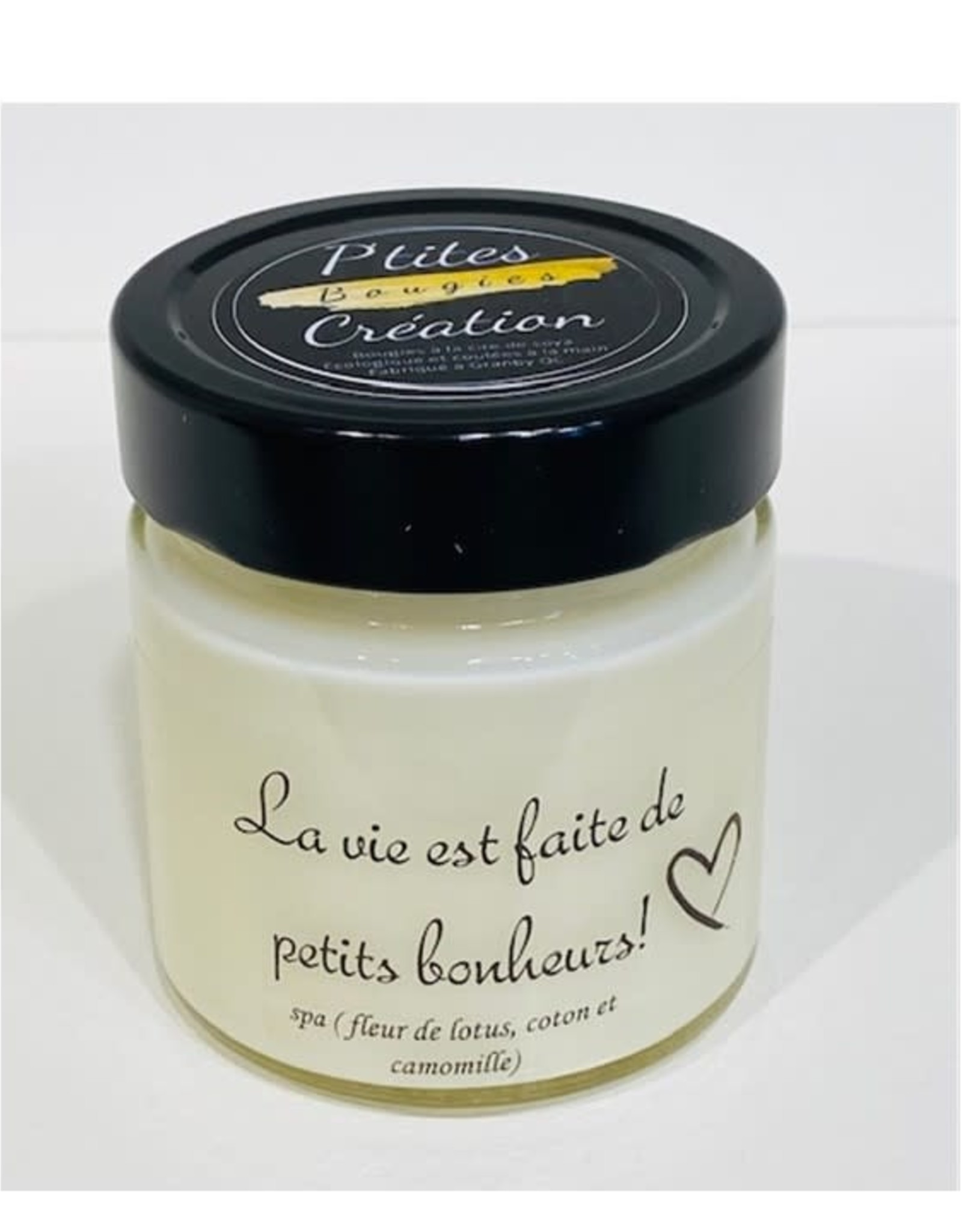 Les p'tites bougies Bougie - La vie est faite de petits bonheurs - Spa