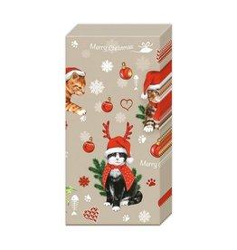Kleenex - Chat de Noël