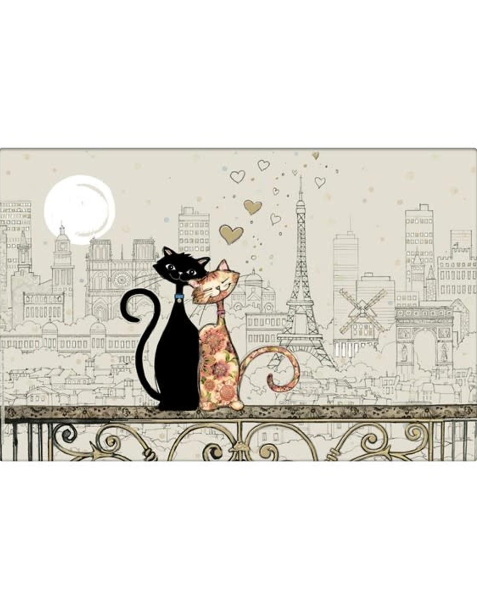 Napperon chat Amy's Paris