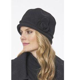 Chapeau cloche - Noir