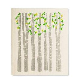Lingette arbre + feuilles