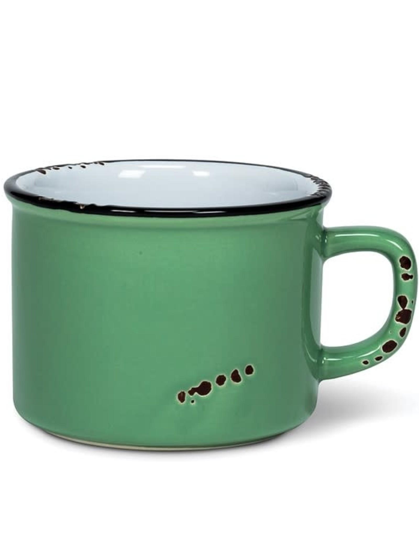 Tasse cappuccino - Vert sauge