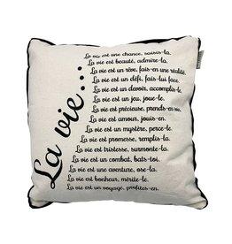 Chantal Lacroix Coussin - La vie