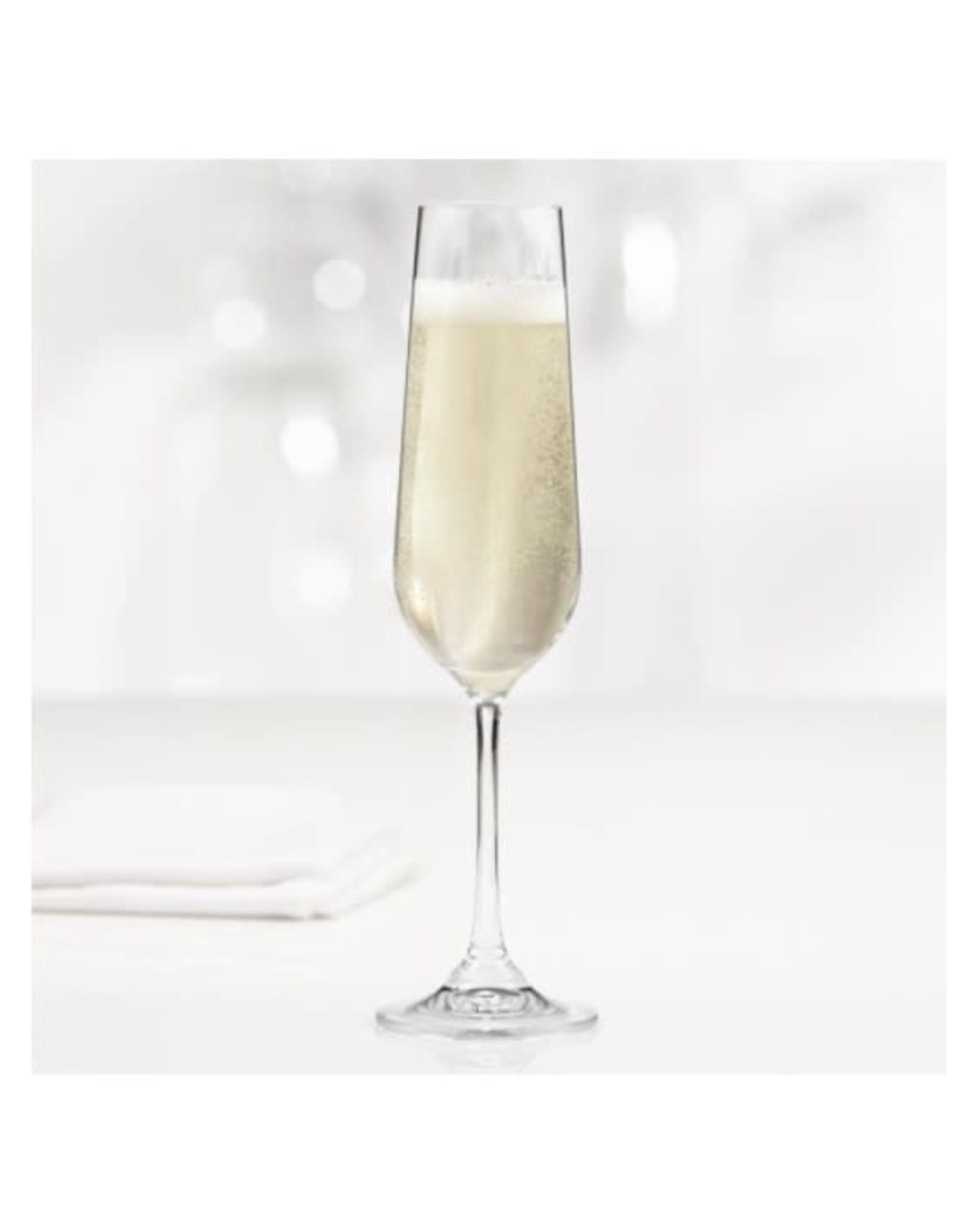 Trudeau Flûtes à champagne  -  bte de 4