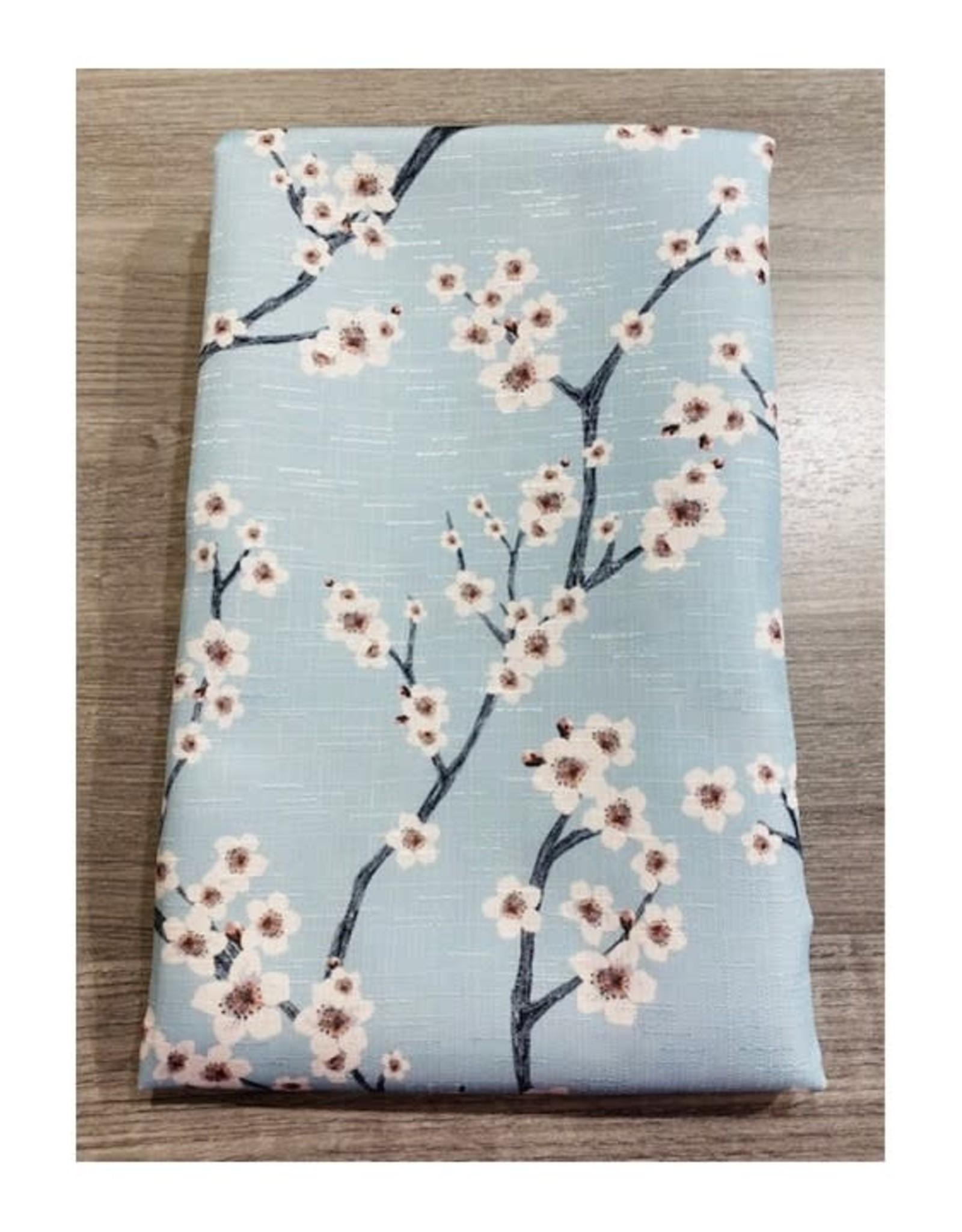 Nappe fleurs Aqua
