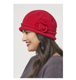 Chapeau cloche - Rouge