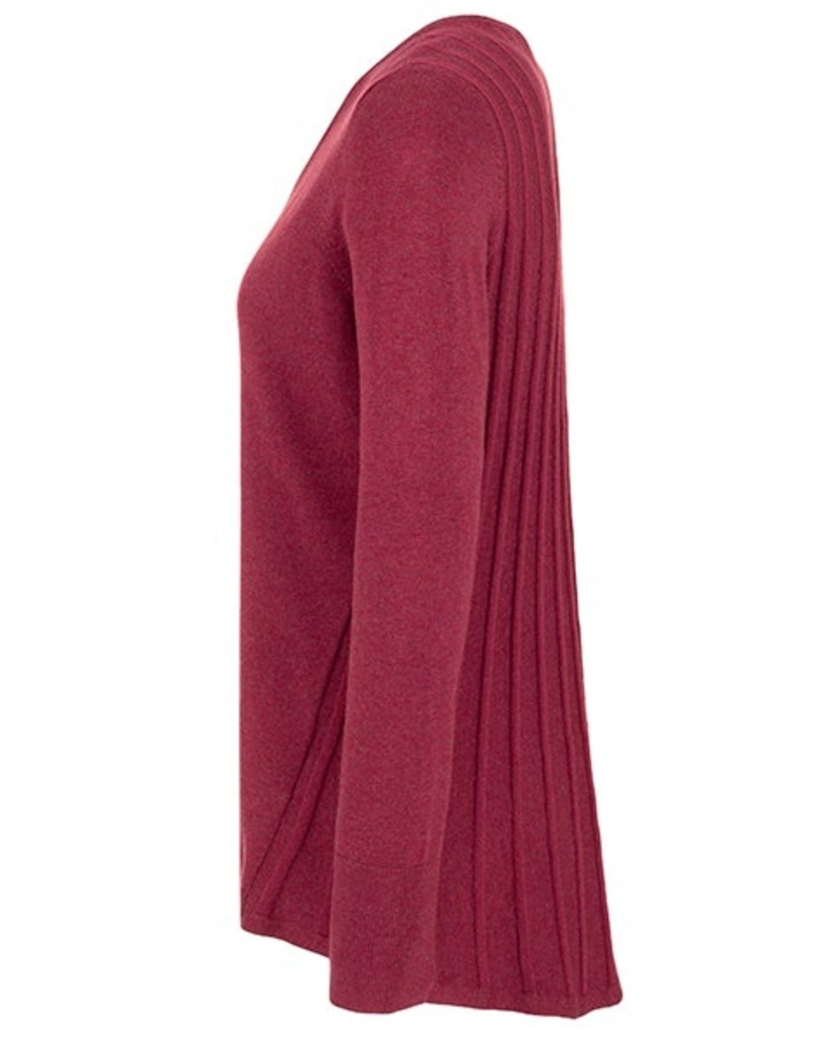 Tribal Long-sleeved V Sweater 39040
