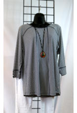 NTouch Country Square 3/4 Striped Top 425X