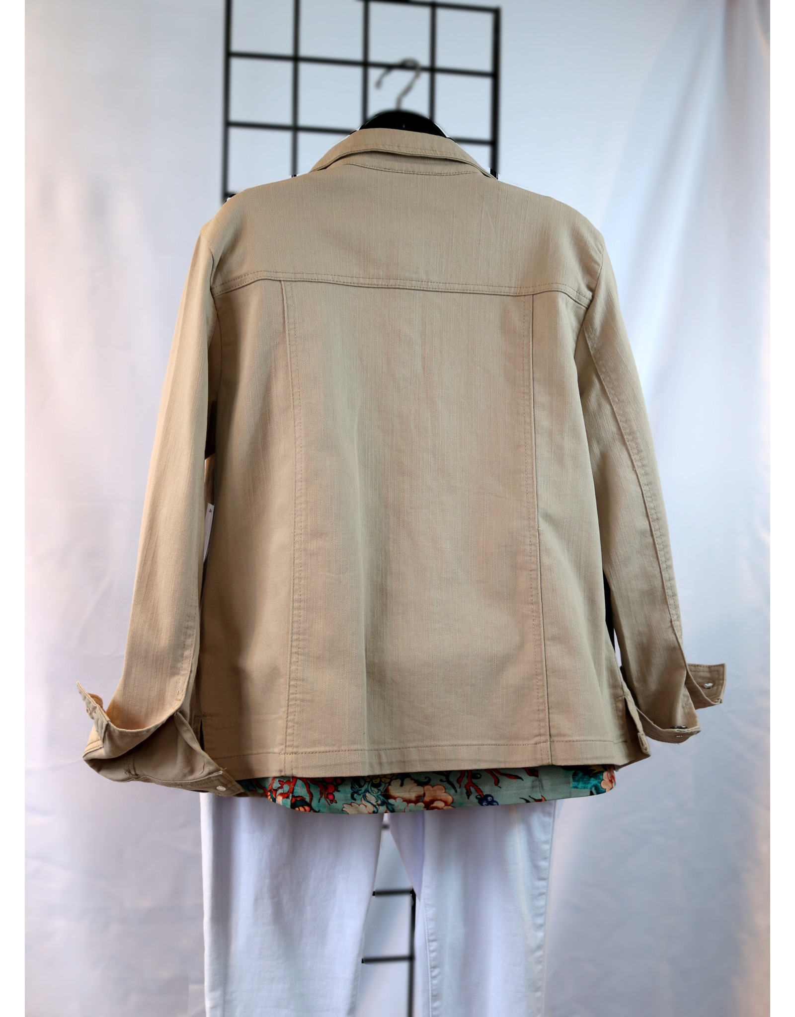NTouch Long Sleeve Denim Jacket 8447