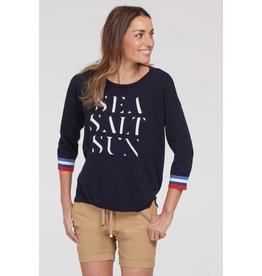 Tribal 3/4 Sleeve Sea Salt Sun Sweater 45520 (S1)