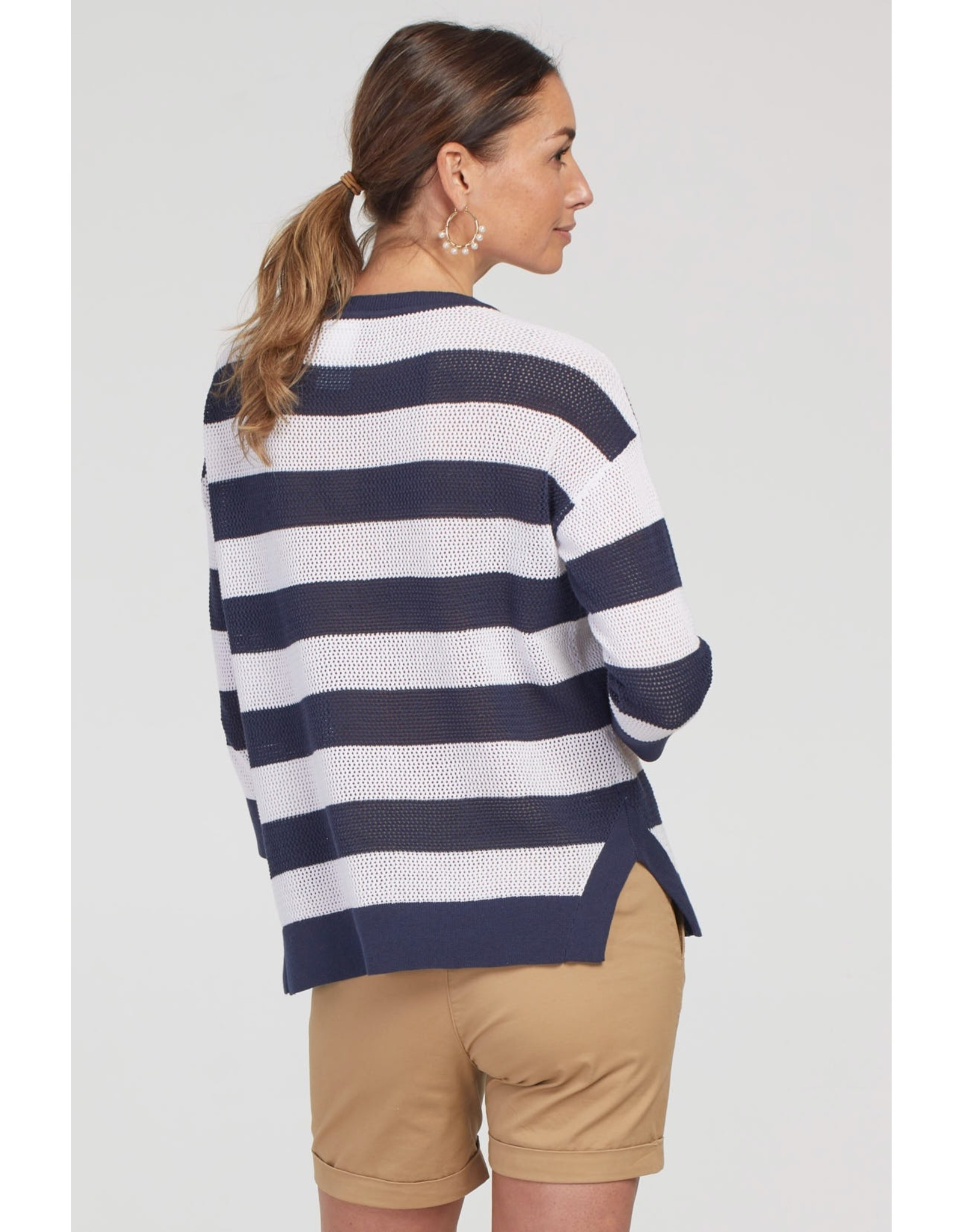 Tribal 3/4 Sleeve Sweater 44230 (S1)