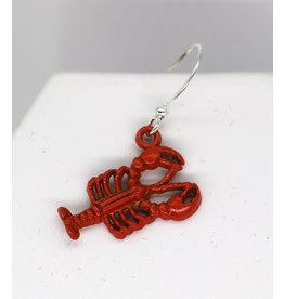 C&C Creations C&C Red Lobster Earrings