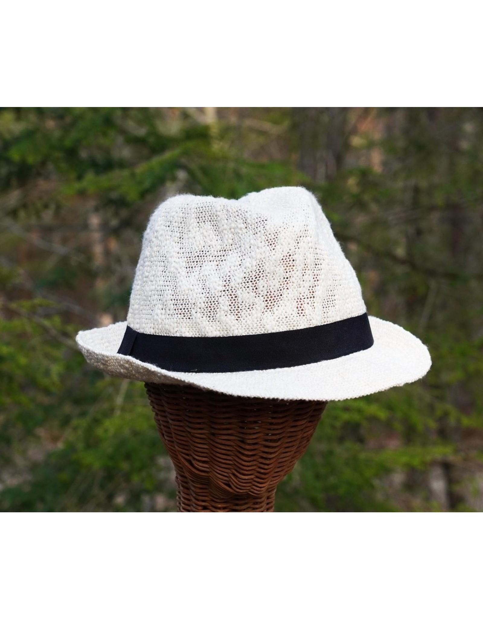 Hat Stuff Crushable Cotten Blend Fedora 3811 (S1)