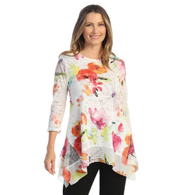 Jess & Jane Lace Tunic with Mesh LC2-1566 (S1)