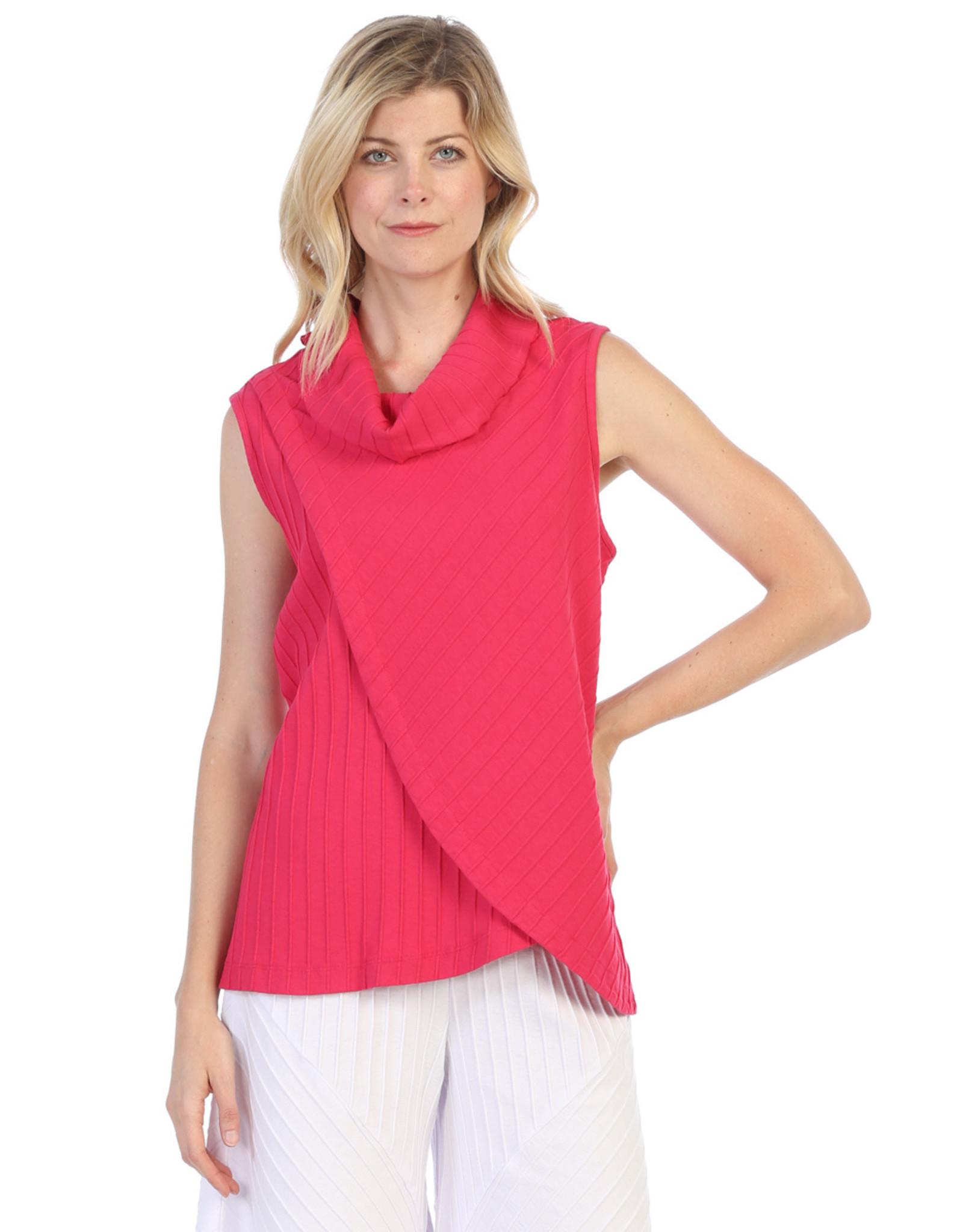 Focus Fashion Cowl Neck Wrapped Top CS364 (S1)