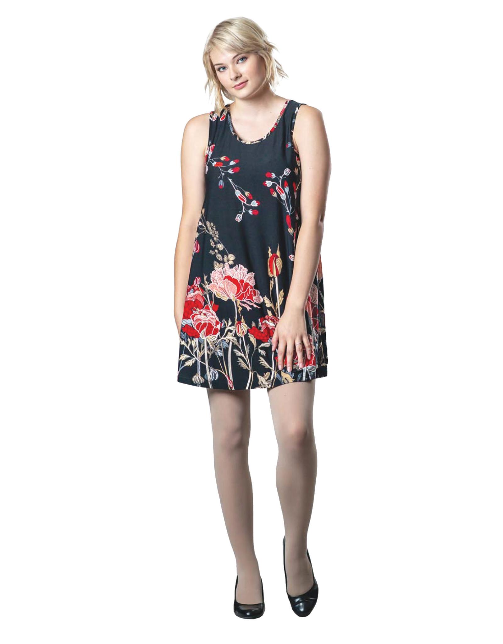 Papa Floral Tunic/Dress T2842 (S1)