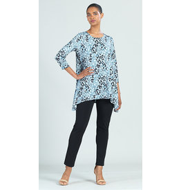 Clara Sunwoo CSW Ultra Soft Cheetah Print Tunic