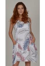 Linen Dress Made Italy 3240 (S1)