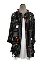 Ela Marie 3/4 Slv Jacket T-1847