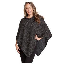 Magic Scarf Mottled Tweed Poncho (S2)