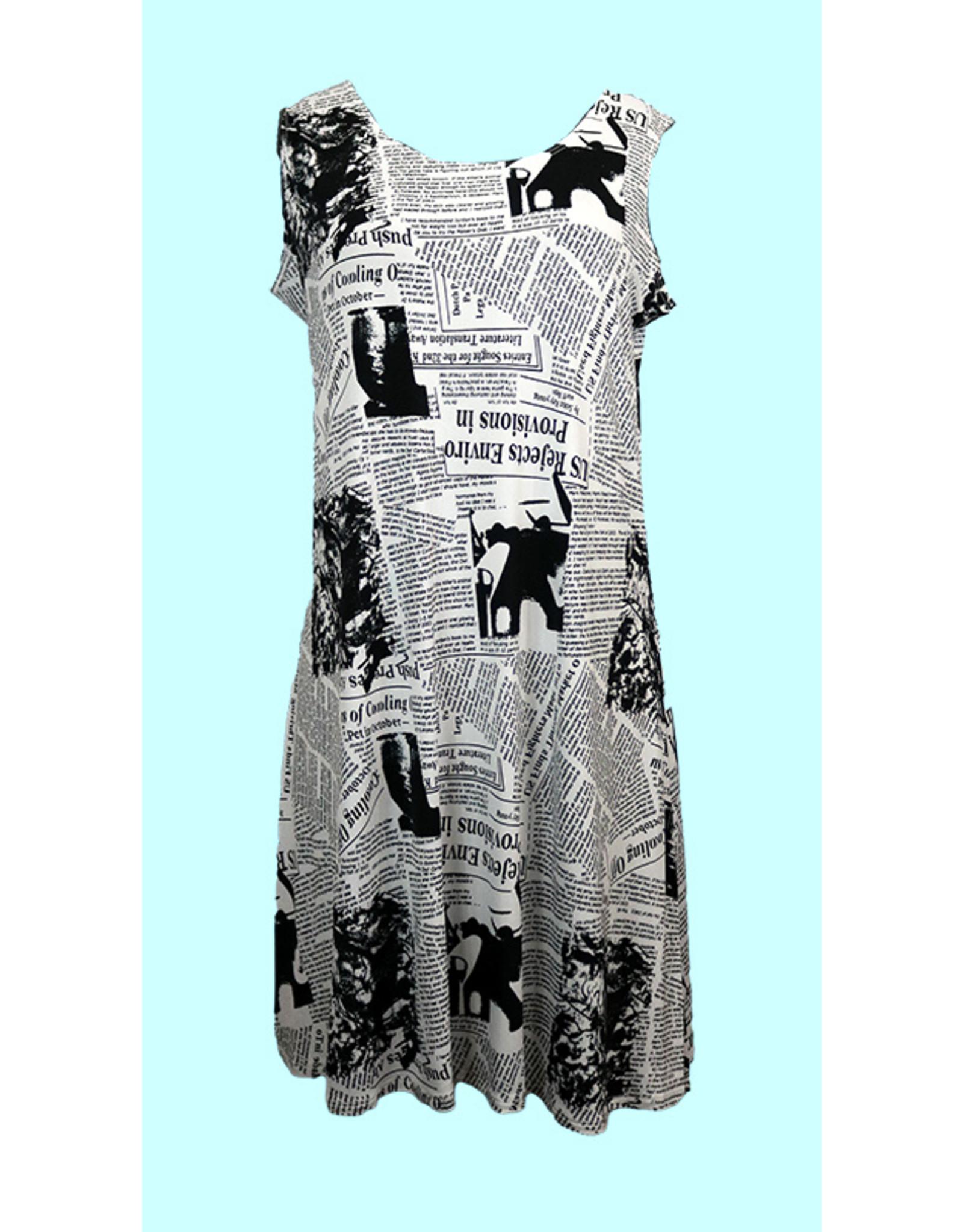 Printed Tank Dress D161 (S1)