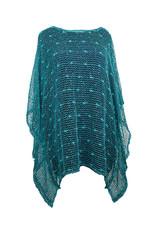 Glitter Fishnet Poncho P3022