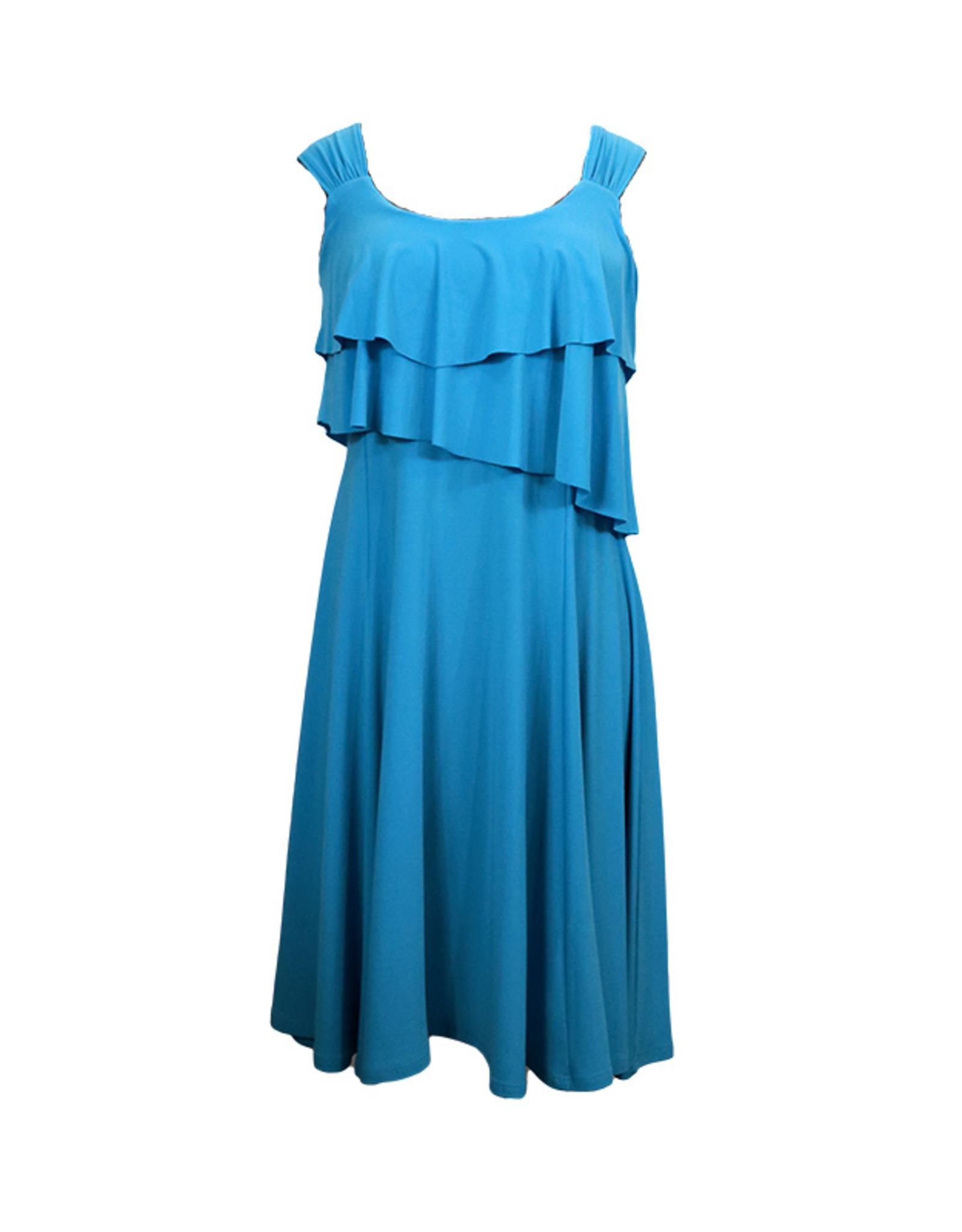 Double Ruffle Dress D2770