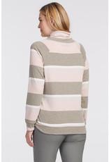 Long-sleeved Raglan Cowl Top 46720