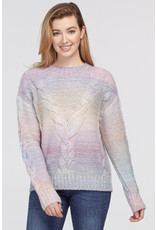 Tribal Tribal Sweater w/Cable Detail 72060
