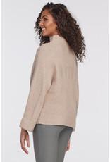 Tribal Long-sleeved Funnel Neck Sweater 47050