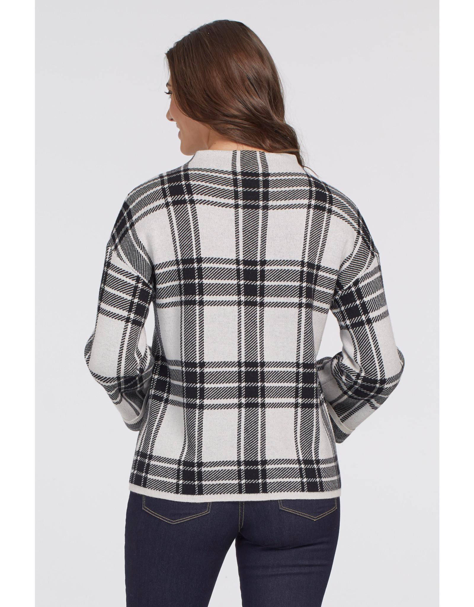 Tribal Mock Neck Sweater 67620