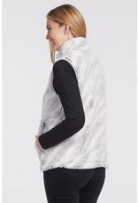 Tribal Faux Fur Vest 46920