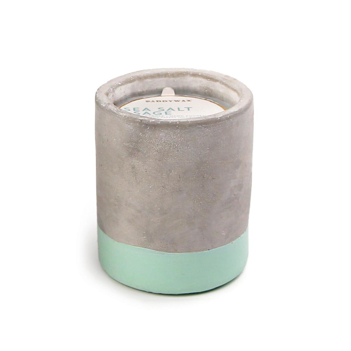 Paddywax Urban Concrete 3.5oz Pot
